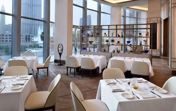 A Power Breakfast at The Restaurant at Address Downtown