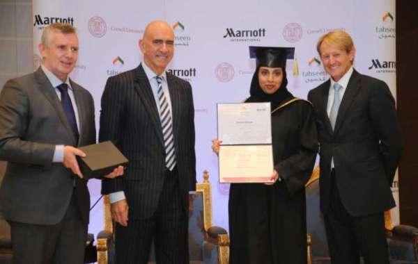 Marriott International Celebrates First Graduation of Tahseen Hospitality Leadership Training Program in the Kingdom of