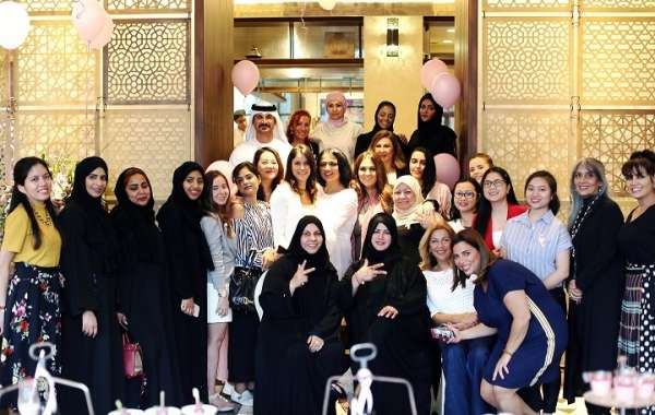 Manzil Downtown Organises Pink Afternoon Tea with Breast Cancer Survivors