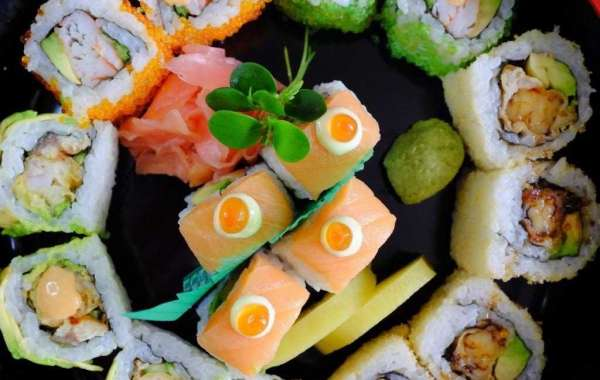 All-you-can-Eat Sushi at Dragon's Place