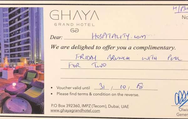 A CHANCE TO WIN FRIDAY BRUNCH FOR 2 PAX AT THE LUXURIOUS GHAYA GRAND HOTEL, DUBAI