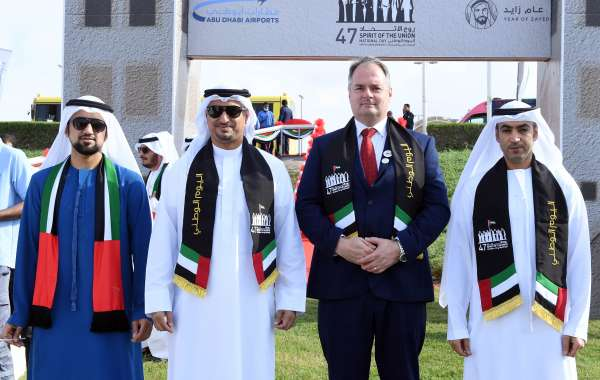 Abu Dhabi Airports celebrates the 47th UAE National Day