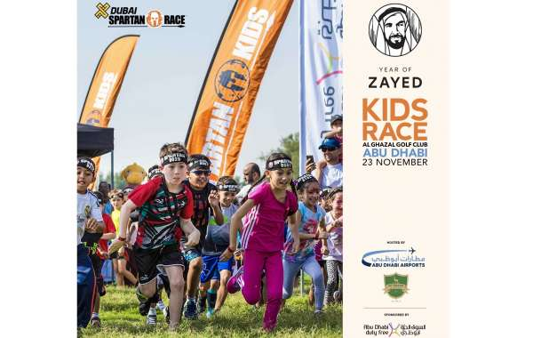 Under the Year of Zayed Initiative, Abu Dhabi Airports Launches 'Spartan Kids Race'