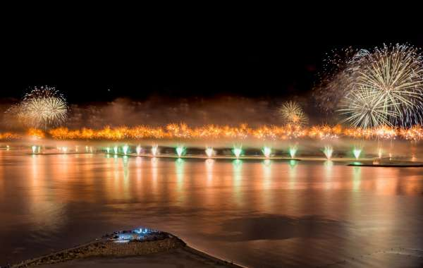 New Year's Eve Fireworks in Ras Al Khaimah  Billed to Set New GUINNESS WORLD RECORD Title
