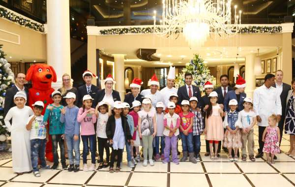 Dukes Dubai Hosts Emirates Red Crescent Children in Need for a Festive Celebration