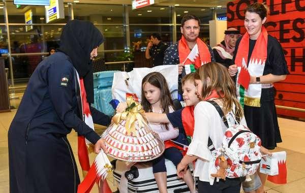 Abu Dhabi Airports Celebrates Bahrain National Day