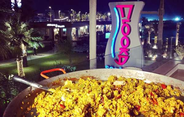 Paella making night at Flooka Dubai's Alfresco Terrace