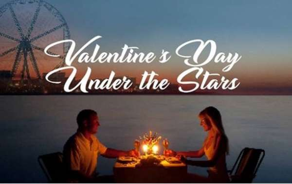 Enjoy a Romantic Valentine's Dinner on a Private Beach at Wavebreaker