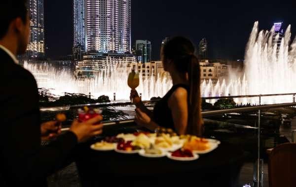 A Romantic Valentine's Dinner with Armani Hotel Dubai