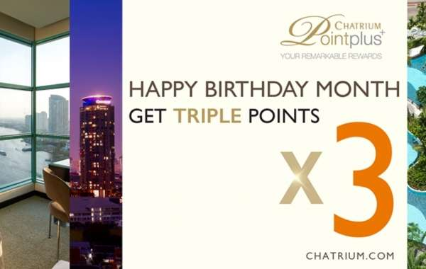 Chatrium Point Plus Loyalty Program Announces Two New Promotional Campaigns to Kick Off 2019