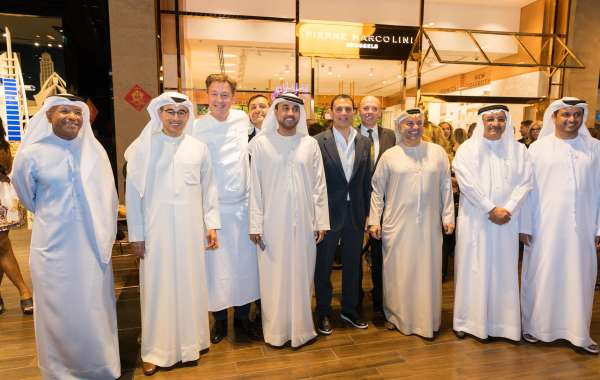 H.E. Mohammed Al Abbar, Chairman of Emaar, Joins the Grand Opening of La Maison Pierre Marcolini