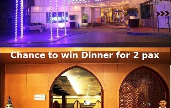 A CHANCE TO WIN DINNER FOR 2 PAX AT EMIRATI N MORE RESTAURANT, CASSELLS HOTEL, Al BARSHA, DUBAI