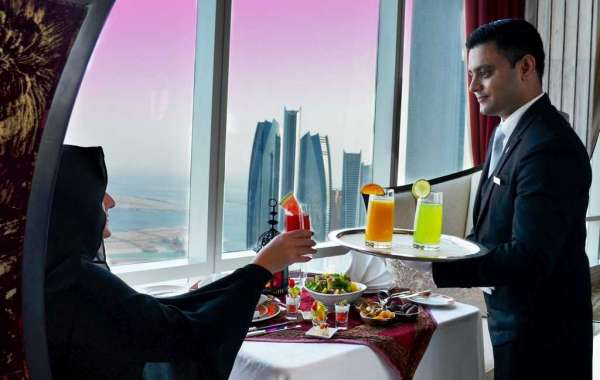 Experience Iftar in the World's Highest Suspended Hotel Suite at The St Regis Abu Dhabi