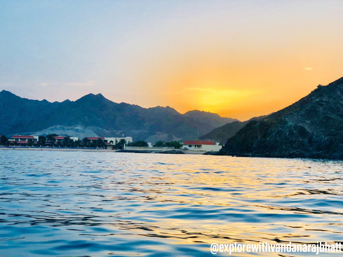 Best spots for sunset in Dubai – Vandanarajbhatt