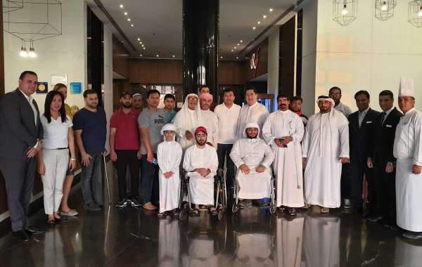 Wyndham Garden Ajman Hosts Iftar for Ajman Club for Disabled
