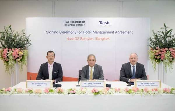 Dusit International signs to bring its upscale dusitD2 brand to the heart of Bangkok for the first time