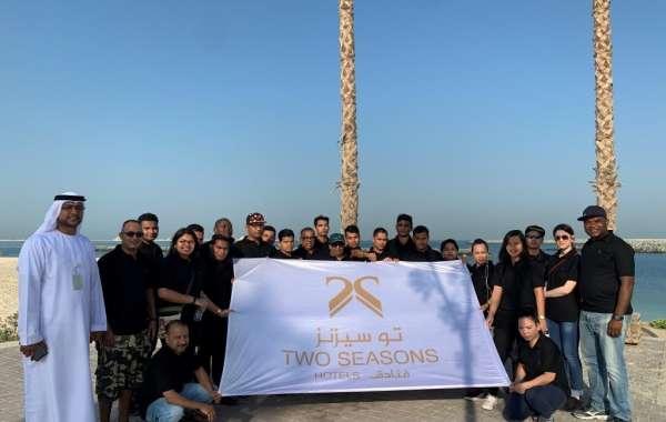 Two Seasons Hotel Dubai Conducts Beach Cleanup Campaign with Dubai Municipality
