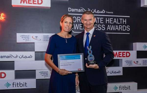 Caesars Bluewaters Dubai Recognised at the Daman Corporate Health & Wellness Awards 2019