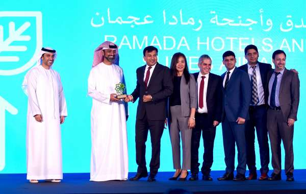 Ramada Hotels in Ajman and Iftikhar Hamdani Honoured at Ajman Sustainable Tourism Awards