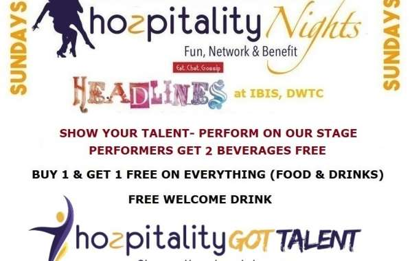 Hozpitality Nights Launches at Headlines Cafe in Dubai every Sunday