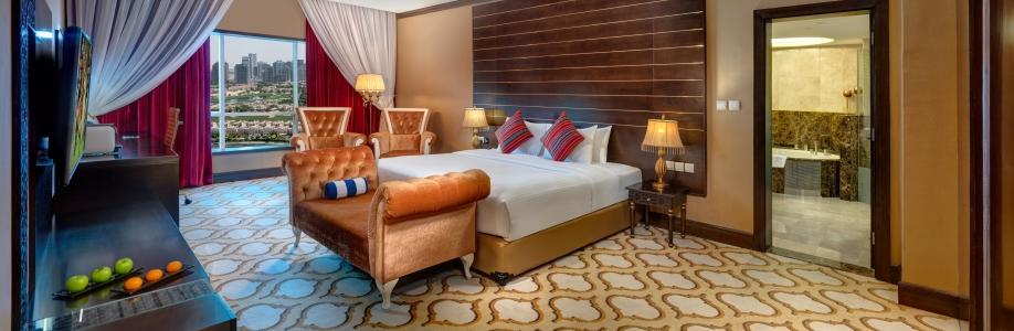 GHAYA GRAND HOTEL DUBAI Cover Image