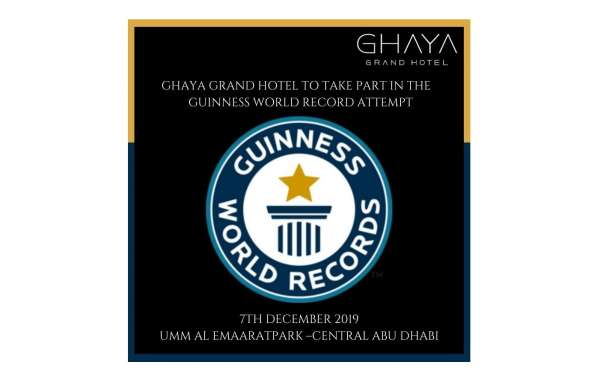 Ghaya Grand Hotel Joins Guinness World Record Attempt for the Largest Pastry Buffet in the UAE