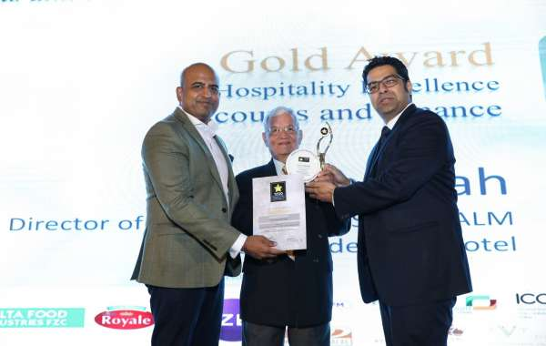 Navin Shah, Gold Award Winner for Hospitality Excellence Accounts and Finance
