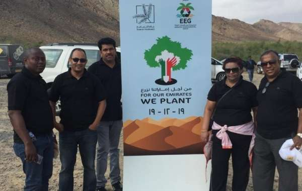 Two Seasons Hotel Dubai Participated into Planting 1200 Indigenous in Ras Al Khaimah with EEG