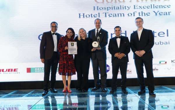 Ghaya Grand Hotel Dubai Rave in Victory for Winning Gold Awards for Hospitality Excellence