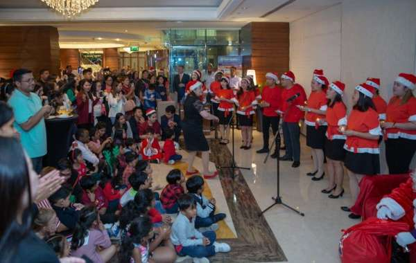 Park Regis Kris Kin Hotel Hosted a Christmas Tree Lighting Ceremony
