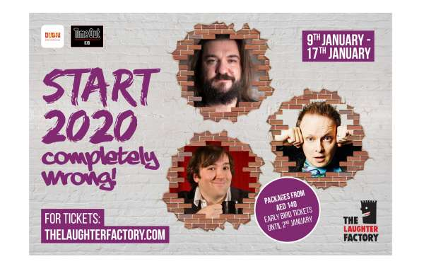 The Laughter Factory's 'Start 2020 Completely Wrong! Tour'