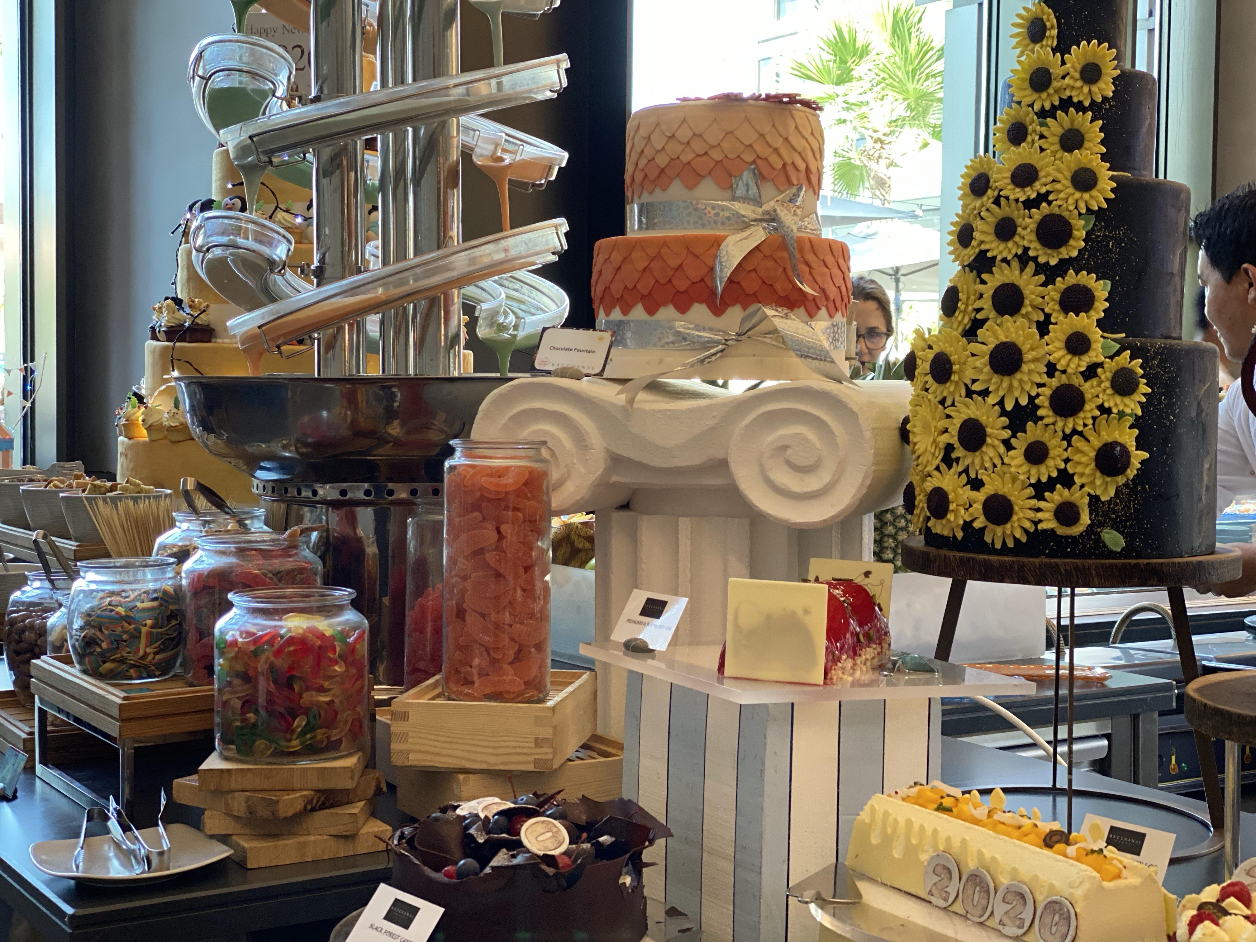 New Year Festive Bruch at Caesars Palace Resort Dubai – Vandanarajbhatt