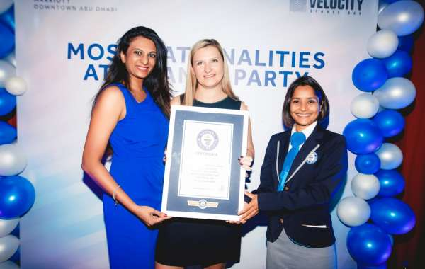 Velocity Sports Bar and Restaurant at Marriott Hotel Downtown Abu Dhabi sets a GUINNESS WORLD RECORDS™ title