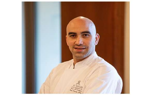 The St. Regis Saadiyat Island Resorts Appoints Hamza Ghazi Al Durdang as New Pastry Chef