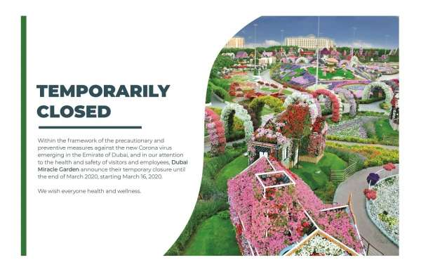 Dubai Miracle Garden & Dubai Butterfly Garden Announces Temporary Closure