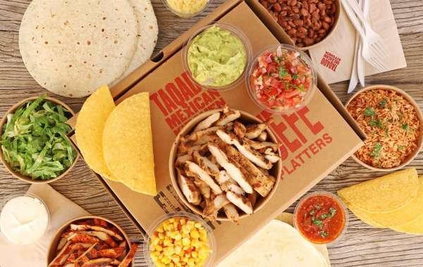 Taqado Launch Family Feast Box