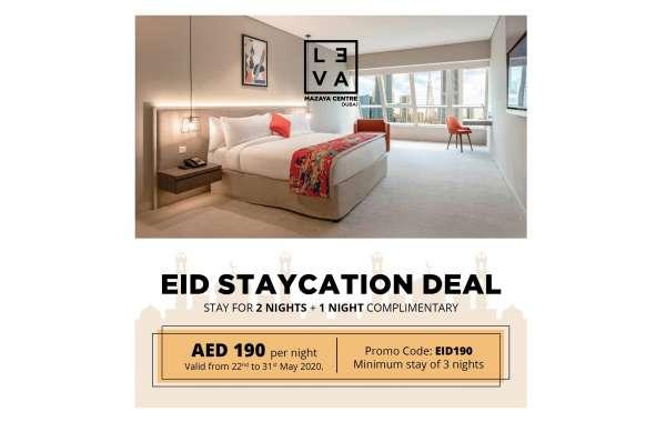 Celebrate Eid at LEVA Mazaya Centre Hotel in Dubai