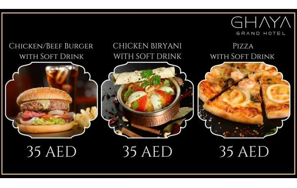 'The US$10 Meal' at Ghaya Grand Hotel