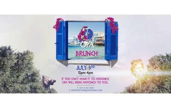 OPA Brunch Returns on the 3rd of July