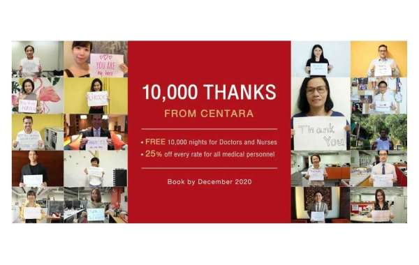 10,000 Room Nights Donated by Centara Hotels to Medical Heroes