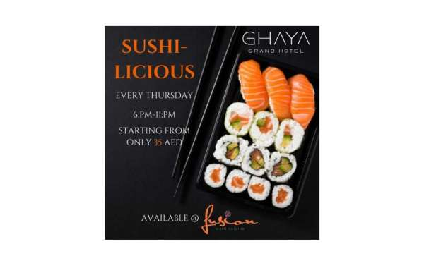 A Unique Sushi Experience at Ghaya Grand Hotel