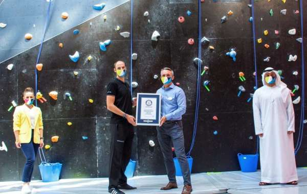 Two GUINNESS WORLD RECORDS™ Titles for CLYMB™ Abu Dhabi