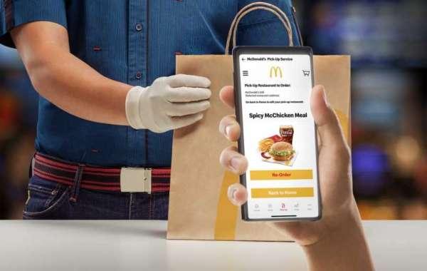 McDonald's Pick-Up Service Launch