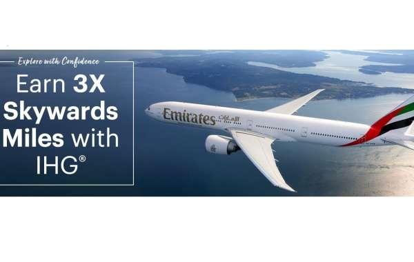 IHG® Rewards Club members can earn 3X Skywards Miles