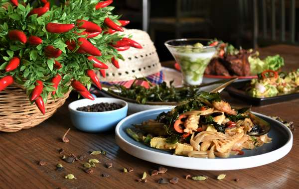 Indulge in a mouth-watering selection of menu items inspired by Thai street food