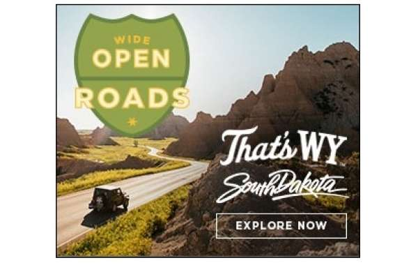 An Ultimate American Road Trip Organized by South Dakota and Wyoming Tourism Department