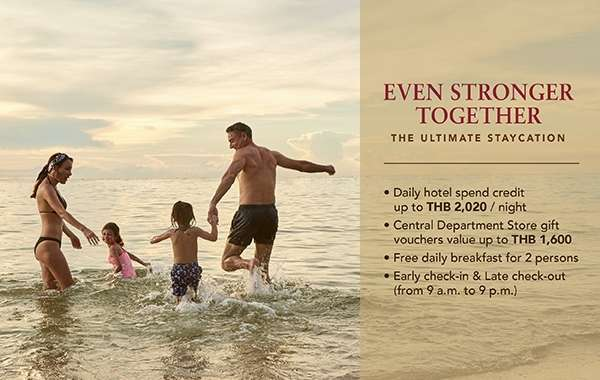 Ultimate Staycation Experience with Even Stronger Together Promotion with Centara Hotels