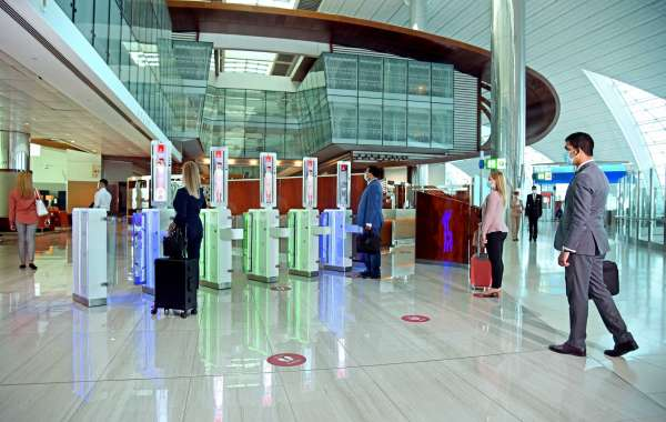 Integrated Biometric Path at Dubai International Airport