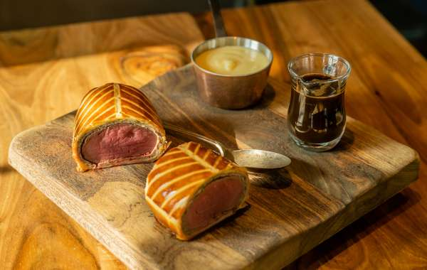 Signature Beef Wellington Dish for Home Chefs Launch by Nick Alvis & Scott Price