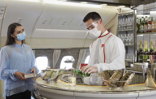 Iconic A380 Onboard Lounge and Shower Spa Services Re-open